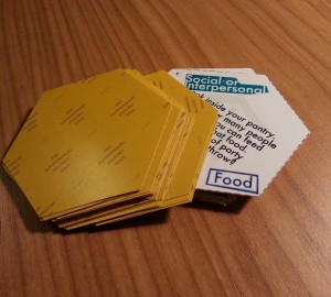 Stack of Creative Determinants of Health Cards